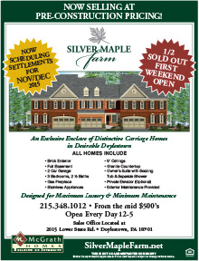 Silver Maple Farm Flyer